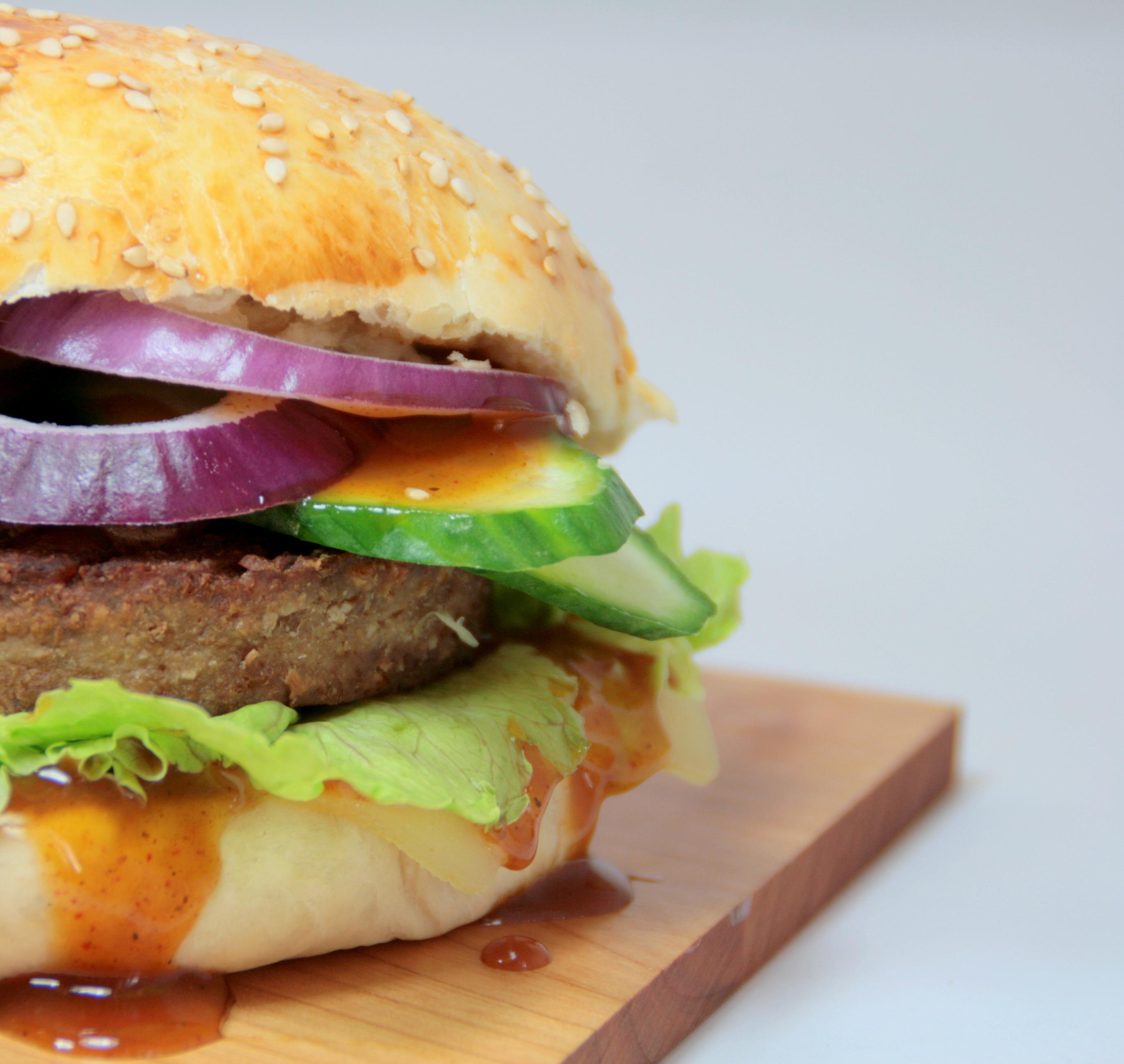 Rügenwalder Mühle vegetarischer Burger Rezept
