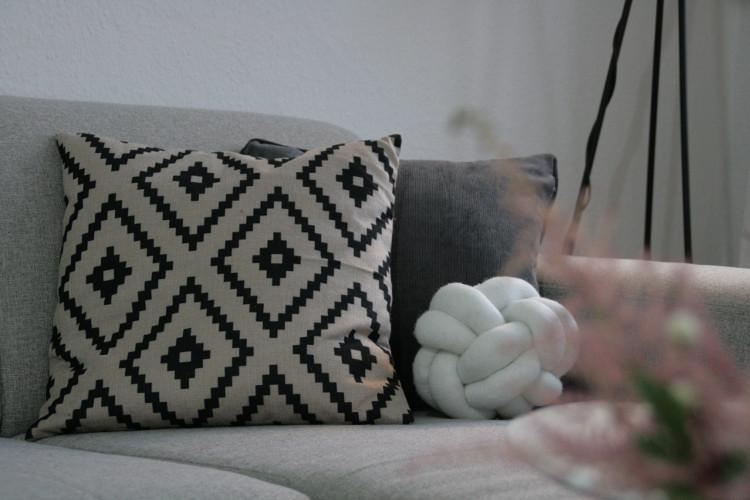 Knot Pillow oder Knotenkissen selber machen